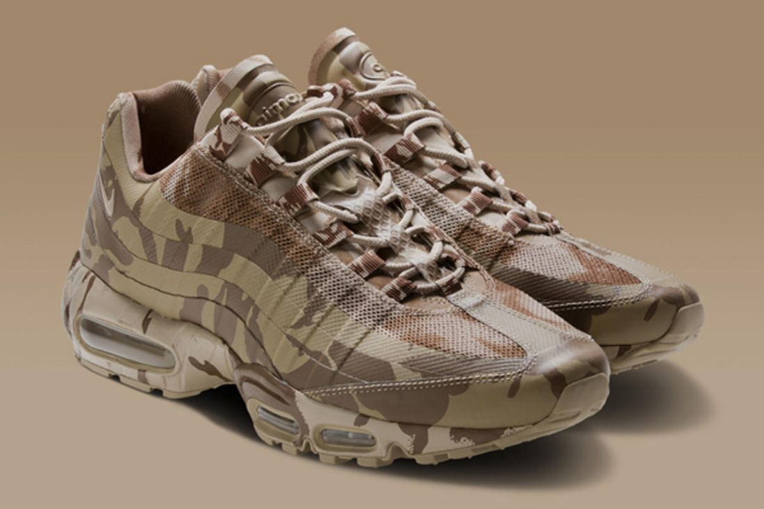 British Country Camo Nike Air Max 95 Best Feature