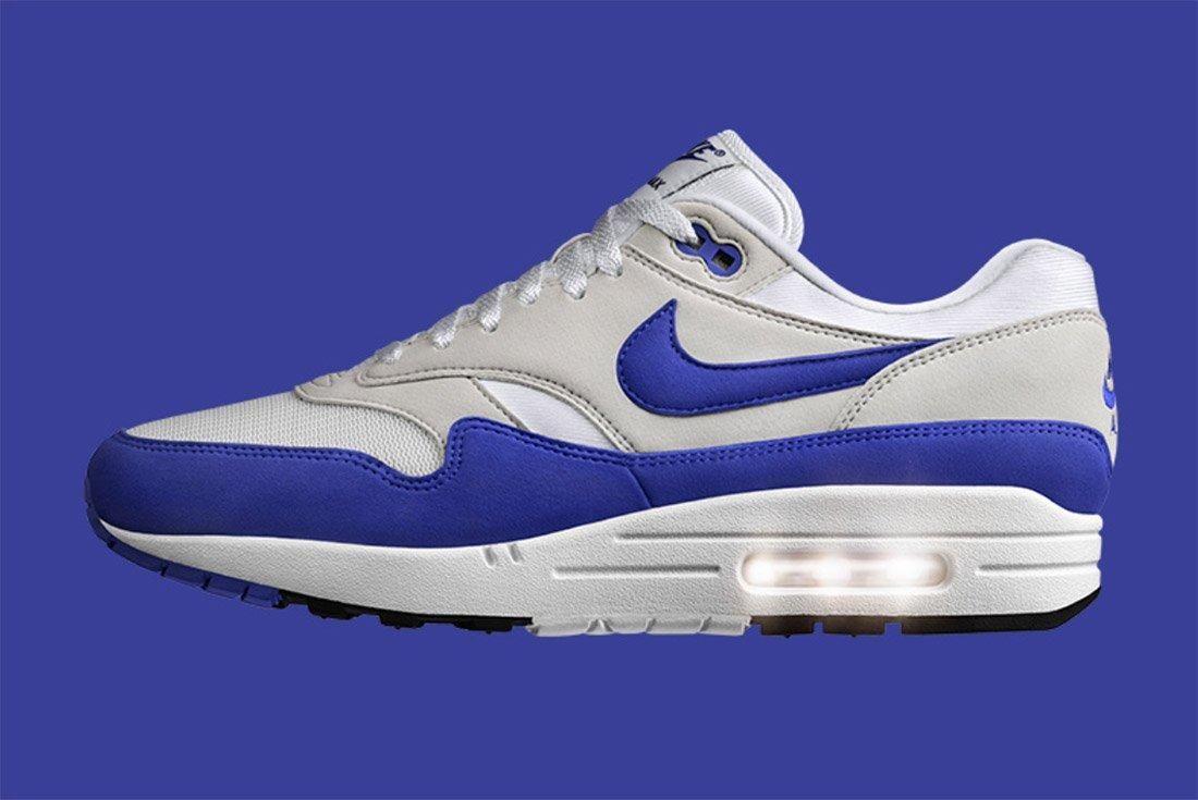 Nike Air Max 1 Og Retro Game Royal Blue 7