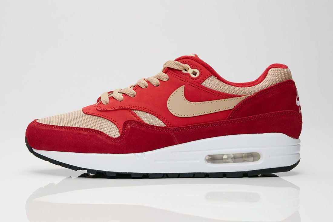 Nike Air Max 1 Red Curry Side Shot