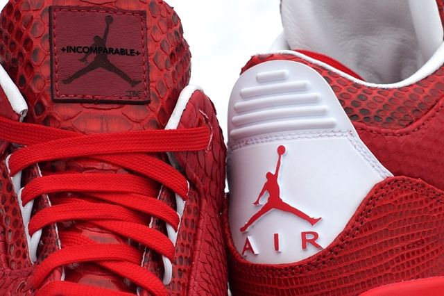 Jbf Customs Air Jordan 3 Valentines 5