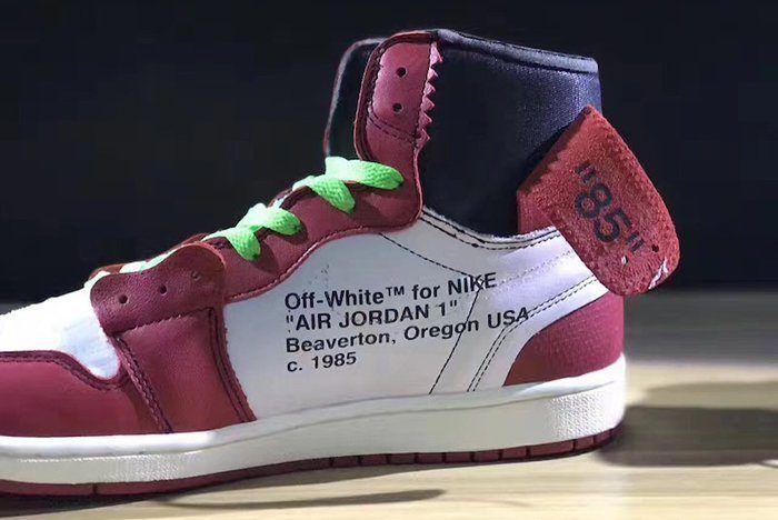 Off White X Air Jordan 1 Collaboration Surfaces3