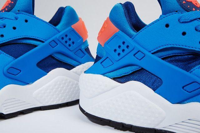 Nike Air Huarache Gym Blue Mango 3