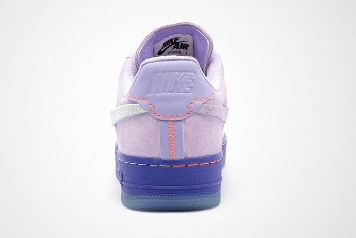 Nike Air Force 1 07 Lux Purple Agate Ct7358 500 Heel