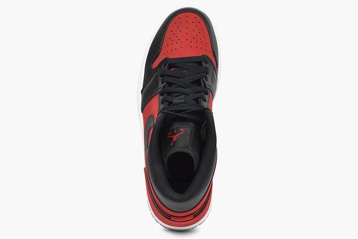 Jordan Air Jordan 1 Mid 554724 610 Gym Red Black White 4
