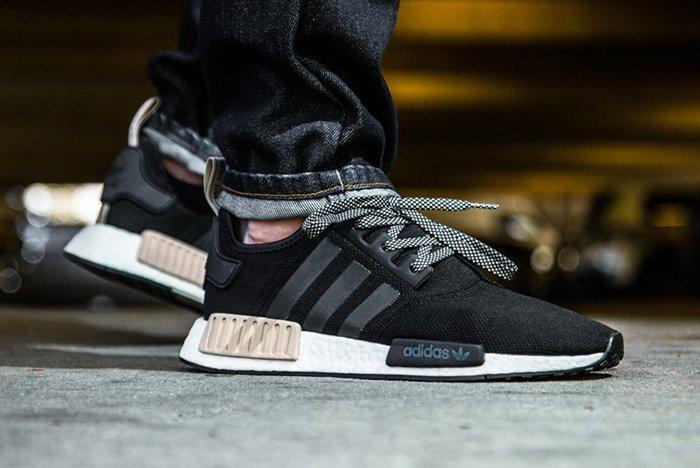 adidas NMD_R1 Foot Locker Exclusive (Black/Light Brown) - Sneaker ...