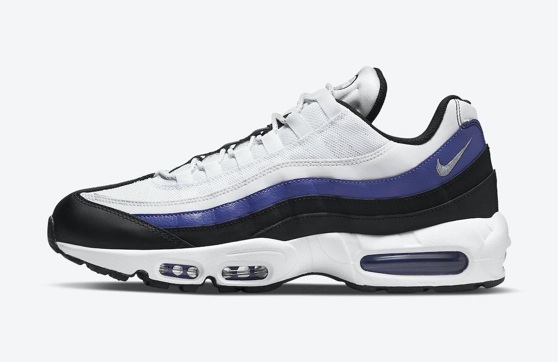 Persian Violet' Peeks Through the Nike Air Max 95 - Sneaker Freaker