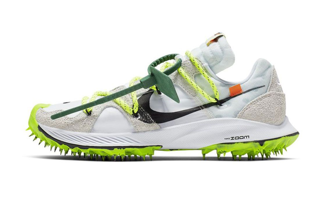 Nike Off White Zoom Terra Kiger 5 Lateral Sie Shot