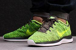 Nike Lunar Flyknit1 Green Type Volt Thumb