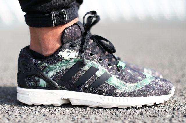 Adidas Originals Zx Flux London 9