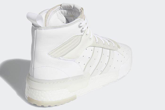 Adidas Rivalry Hi Boost White 4