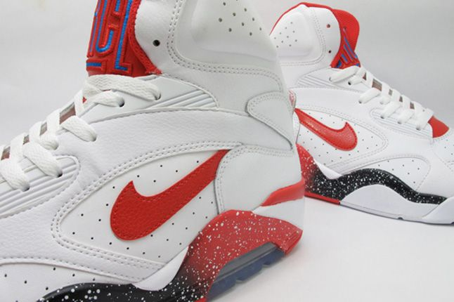 Nike Air Force 180 White Hyper Red Photo Blue Speckle 1