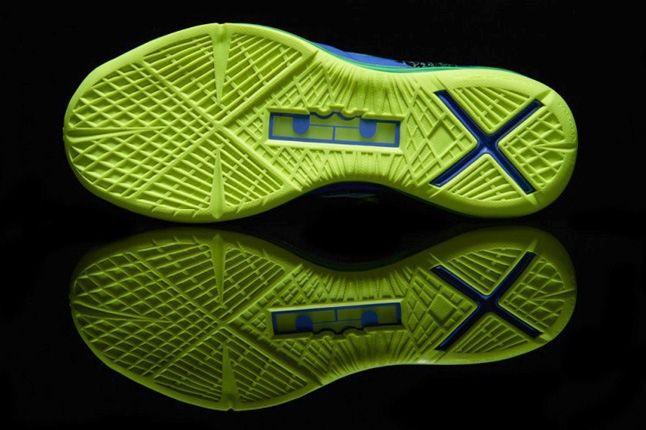Nike Lebronx Pselite Sprt Turquoise Sole Profile 1