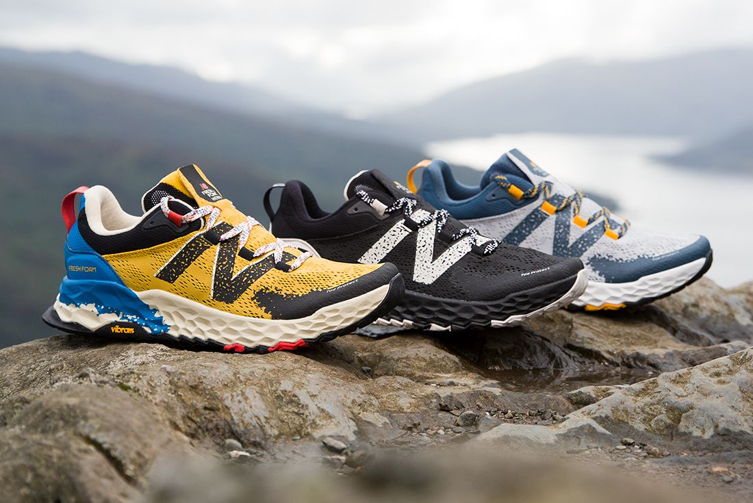 New Balance Hierro V5 Yellow Black Grey