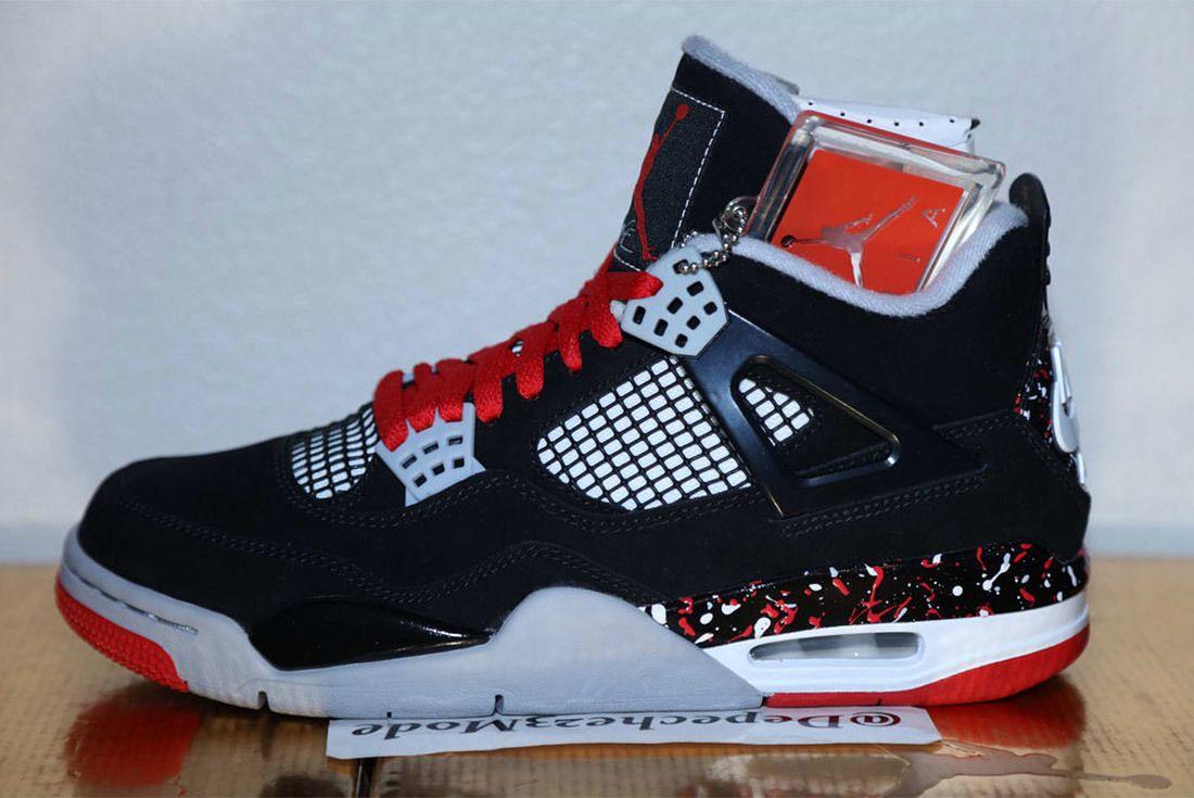 Drake Ovo Air Jordan 4 Splatter 1