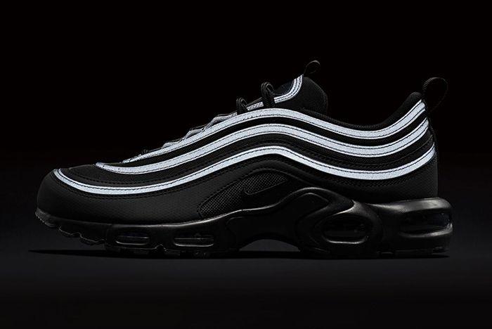 Nike Air Max Plus 97 Triple Black 6