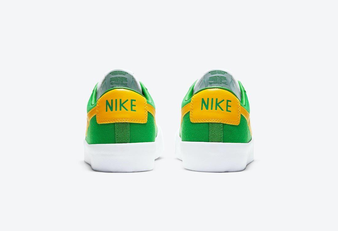 Nike SB Blazer Low GT 'Lucky Green'