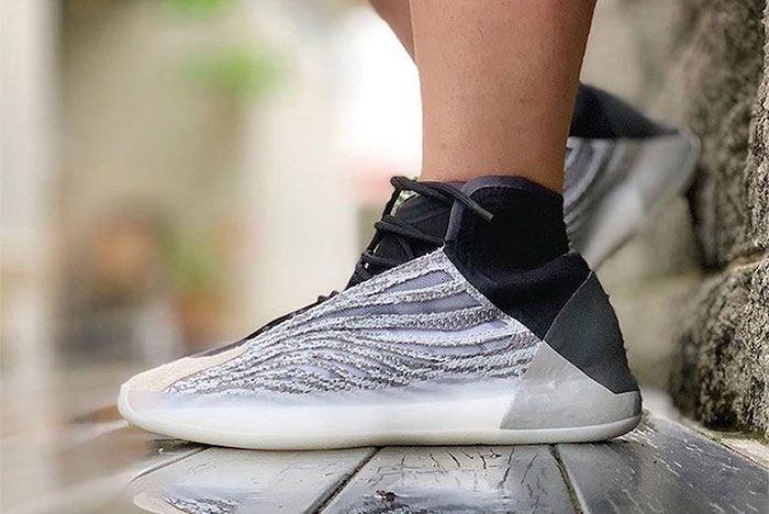Yeezy Basketball Quantum On Foot Left 2