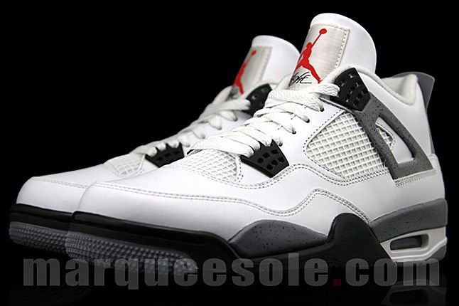 Air Jordan 4 White Cement 2 1