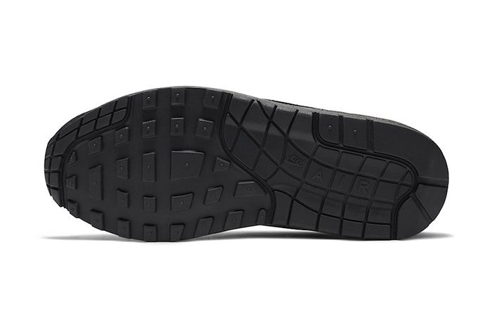 Nike Air Max 1 Triple Black 319986 045 Release Date Outsole