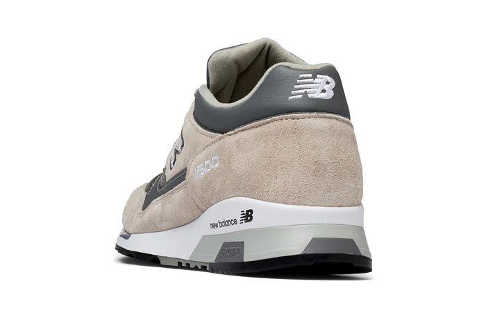New Balance 1500 Made In England Tan Grey Heels