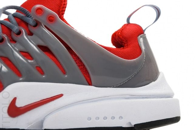 Nike Air Presto Sport Red Cool Grey Tpu Cage 1