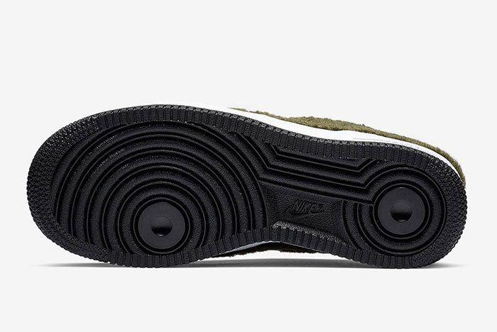 Nike Air Force 1 Low Shearling Av6673 300 6