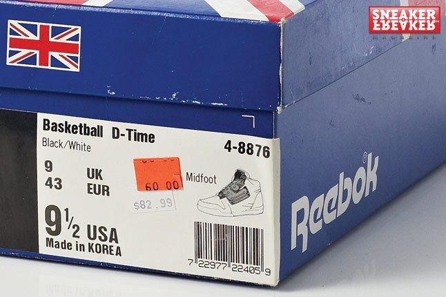 Reebok Pump D Time Box 1
