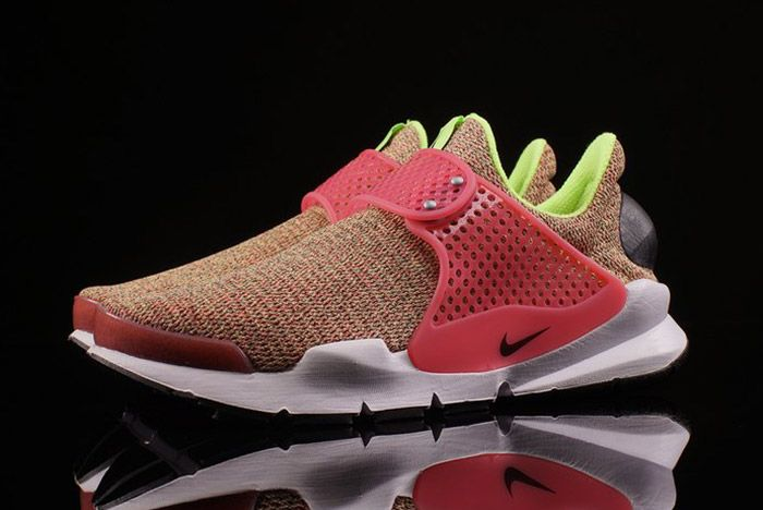 Nike Sock Dart Wmns Ghost Green Hot Punch 2