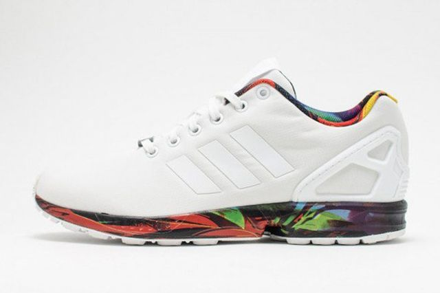 Adiads Zx Flux Printed Sole 3