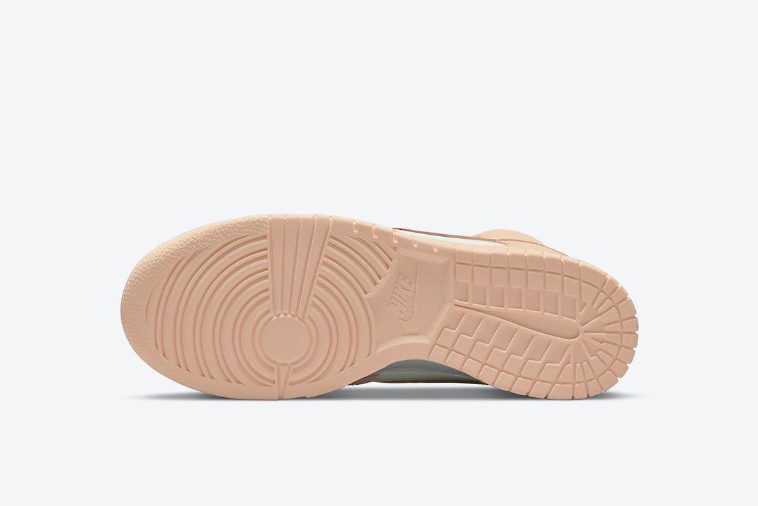 Nike Dunk High 'Crimson Tint'