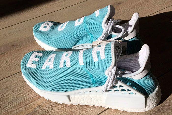 Pharrel Hu Nmd Light Blue Sneaker Freaker 4