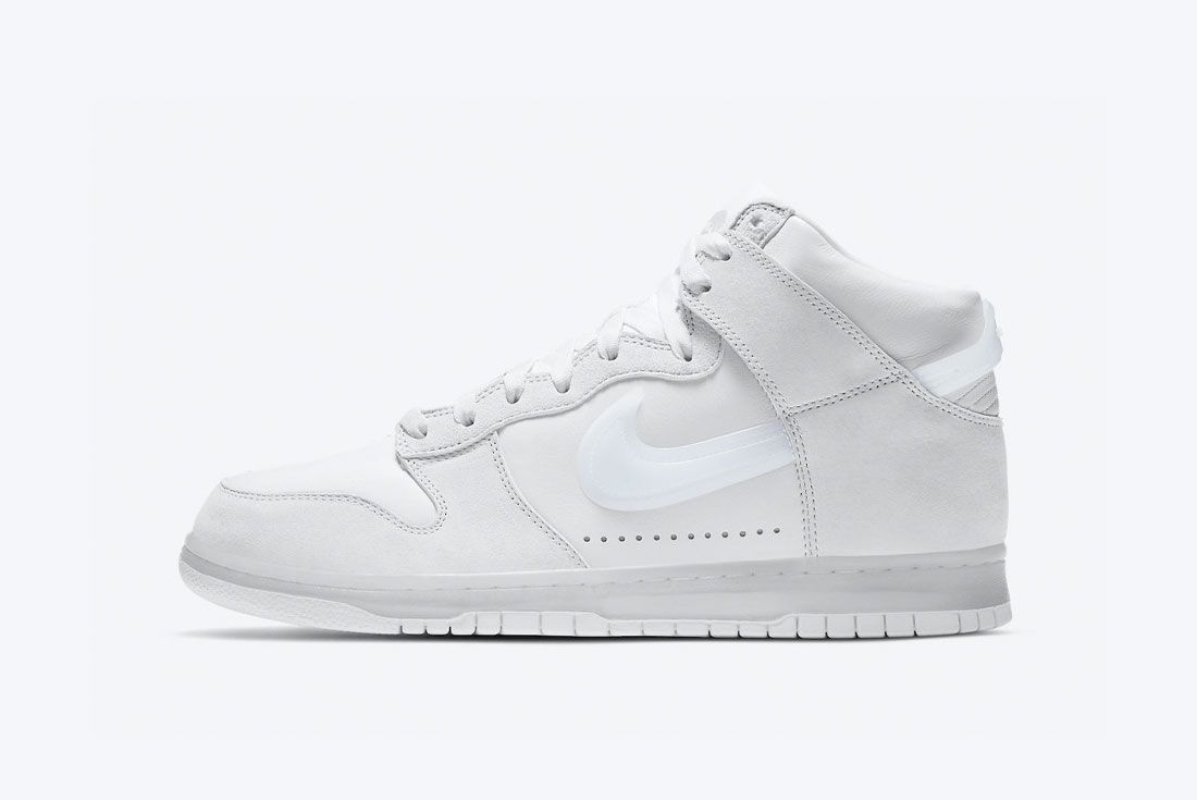 Nike Dunk High Slam Jam White
