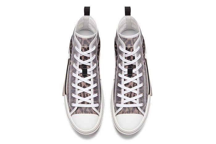 Dior B23 High Top Leopard Print Sneaker 1 Top3