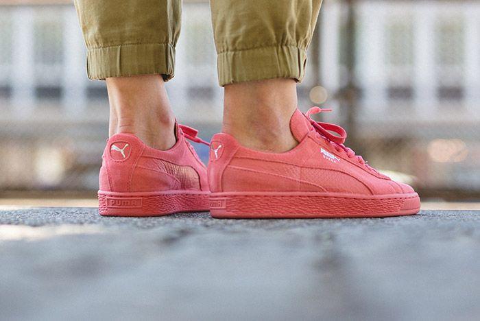 Puma Suede Pink 2