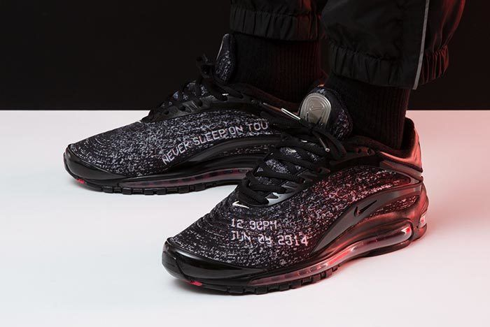 Skepta X Nike Air Max Delux On Foot 4