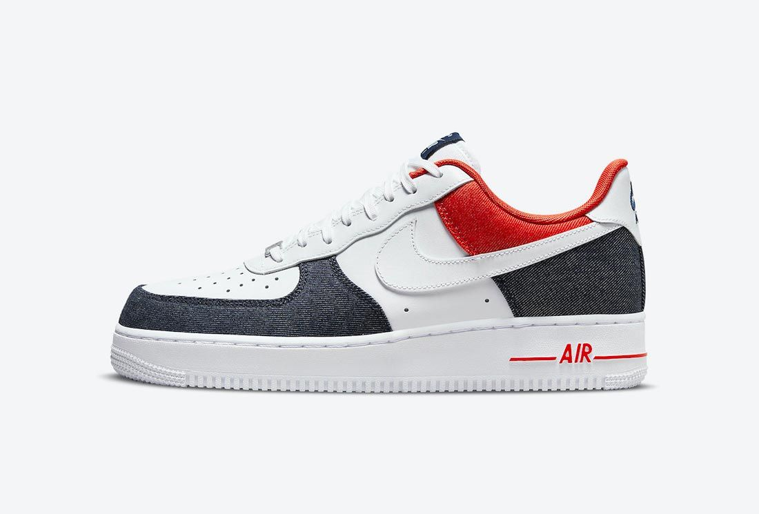 Nike Air Force 1 'USA Denim'