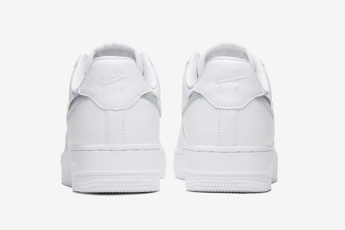 Nike Air Force 1 Iridescent Heels