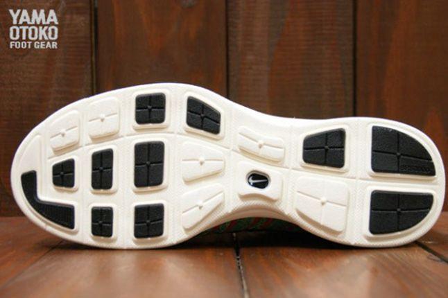 Nike Lunar Flyknit Chukka Blue Glow Sole 1