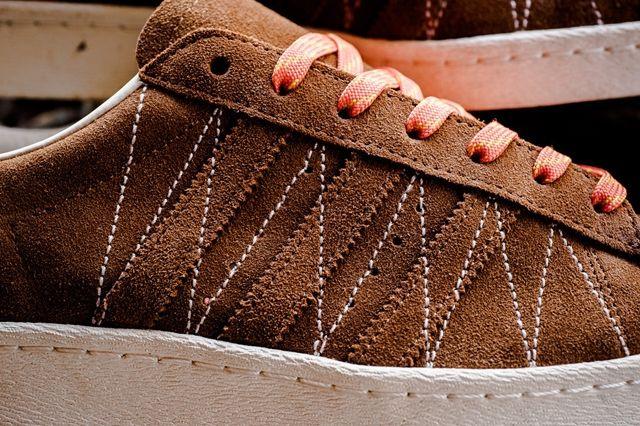 Union Los Angelos X Adidas Adi Super Star 80S Brown Suede Leather 5