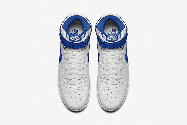 Nike Air Force 1 High Summit White Royal Blue 4