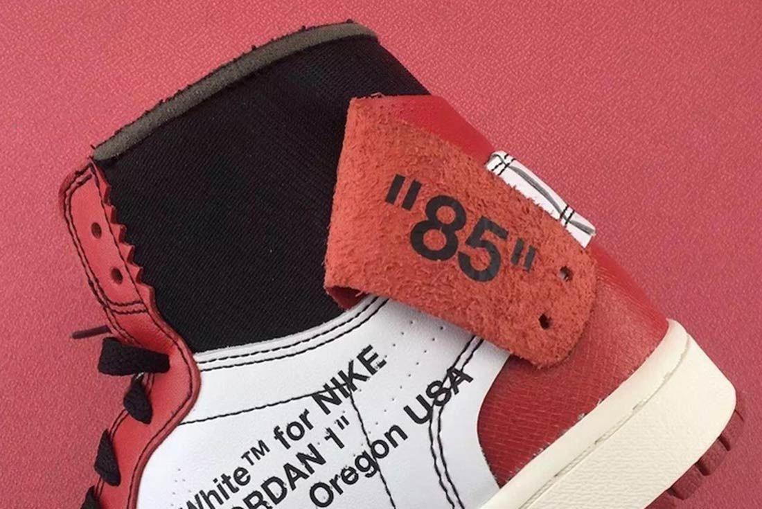 Off White X Air Jordan 1 6
