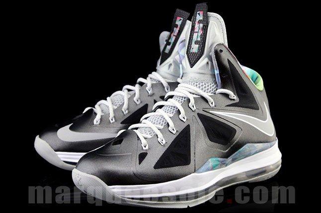 Nike Lebron James Black Prism Sneaker 1