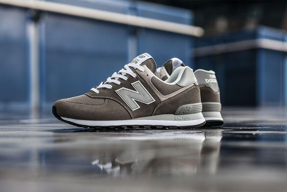 New Balance 574 Brown Left