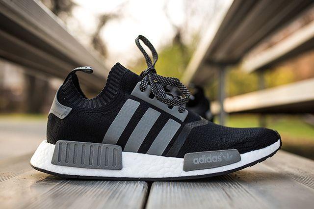 Adidas Nmd Runner Pk Black Grey 7