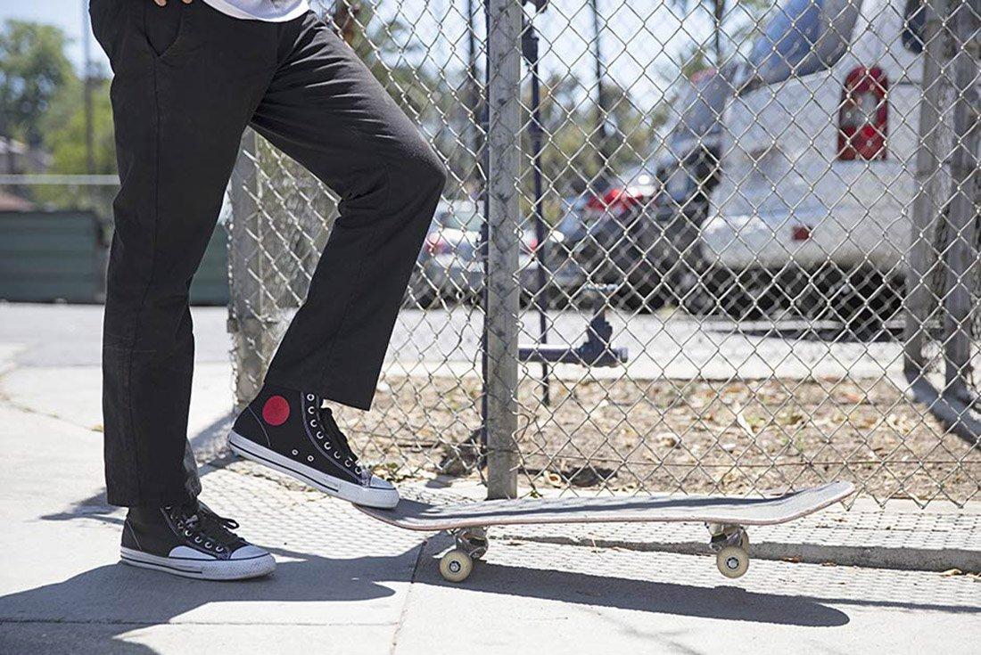 Chocolate Skateboards Converse Cons 3
