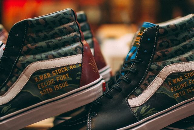 Sbtg X Kadir Warriors Vans Pack 11