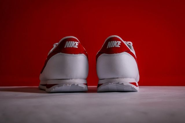 Nike Cortez White Varsity Red 2