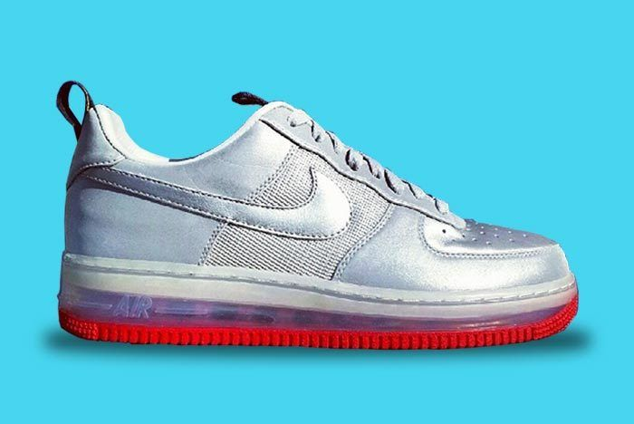 Nike Silver Bullet Af1 Low Supreme Sample