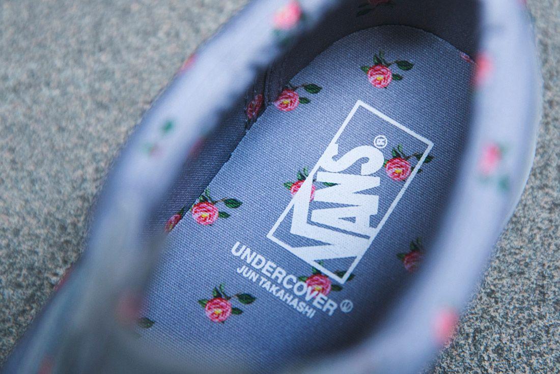 Vans Undercover Old Skool Floral Grey 2