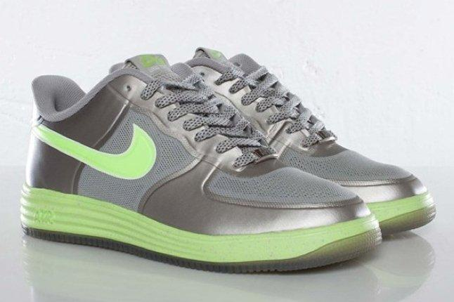 Nike Lunar Force 1 Fuse Granite Volt Angle 1